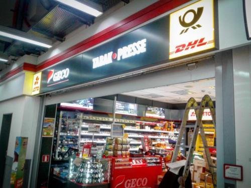 Havarijní servis rolovací mříže Geco tabák Německo